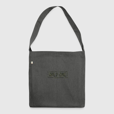 wild One - Schultertasche aus Recycling-Material