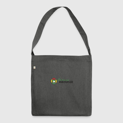I am a Rhedenser - Shoulder Bag made from recycled material