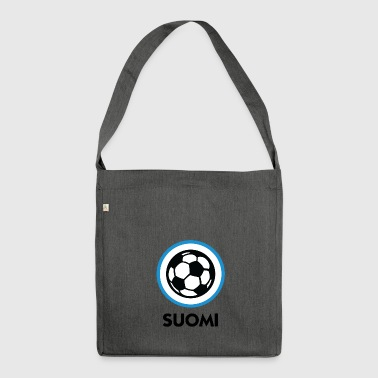 Finland Football Emblem - Shoulder Bag made from recycled material