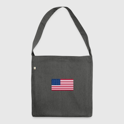 US - Schultertasche aus Recycling-Material
