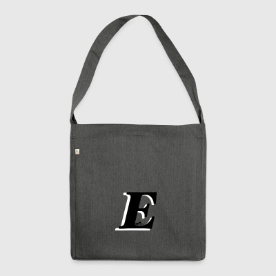 E alphabet - Shoulder Bag made from recycled material