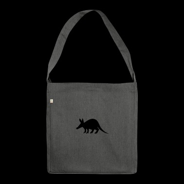 aardvark earth piglet2 - Shoulder Bag made from recycled material