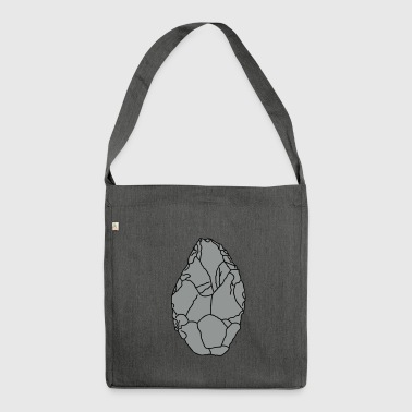 Axe Stone Age 2 - Shoulder Bag made from recycled material