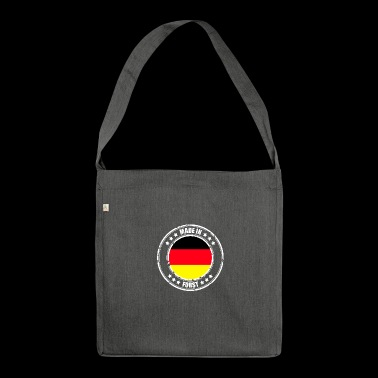 FORST - Schultertasche aus Recycling-Material