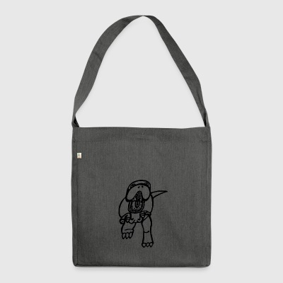 T-Rex - Borsa in materiale riciclato
