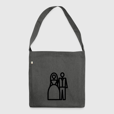 grooms - Shoulder Bag made from recycled material