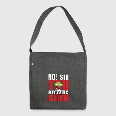 no, sir - Shoulder Bag made from recycled material