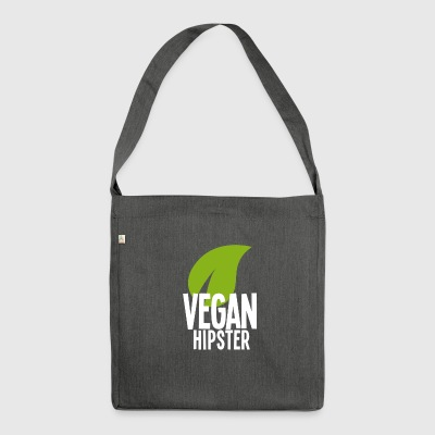 Vegan Hipster - Shoulder Bag made from recycled material