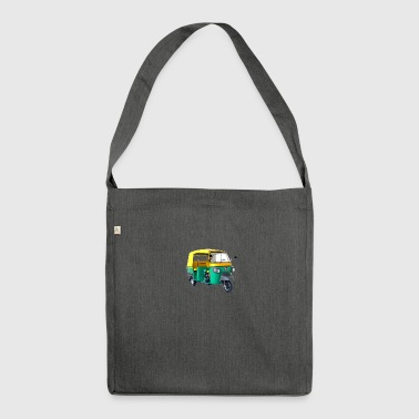 Tuk tuk - Shoulder Bag made from recycled material