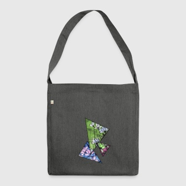 Magnolia color - Shoulder Bag made from recycled material