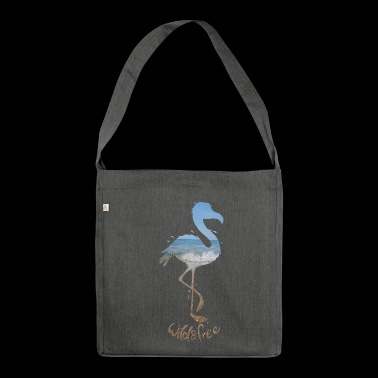 flamingo - Schultertasche aus Recycling-Material