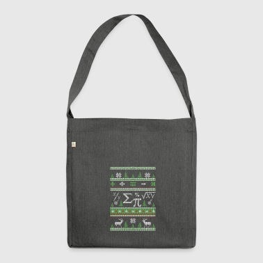 Mathematicians Ugly Christmas - Shoulder Bag made from recycled material