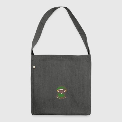 PUG Link - Schultertasche aus Recycling-Material