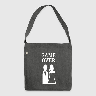 ++ ++ GAME OVER - Bandolera de material reciclado