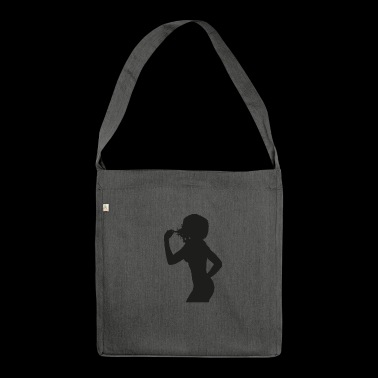 Silhouette - Schultertasche aus Recycling-Material
