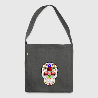 The Rock Totenkopf - Schultertasche aus Recycling-Material