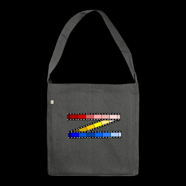color film - Shoulder Bag made from recycled material