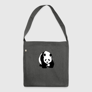panda - Borsa in materiale riciclato
