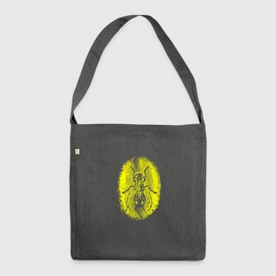 Fly yellow - Shoulder Bag made from recycled material
