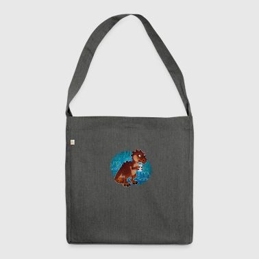 T - rex - Shoulder Bag made from recycled material