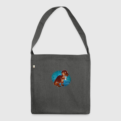 T - rex - Borsa in materiale riciclato