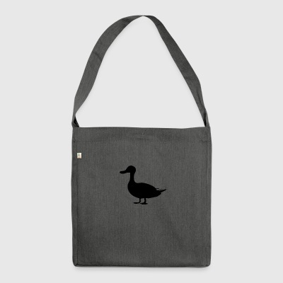 Ente - Schultertasche aus Recycling-Material