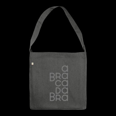 Abracadabra - Customizable - Shoulder Bag made from recycled material