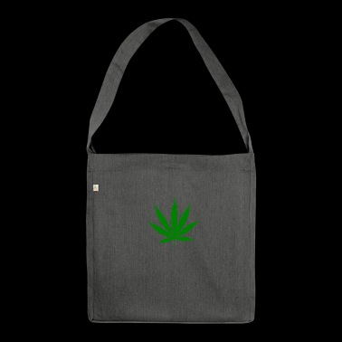 Weed Leaf - Borsa in materiale riciclato