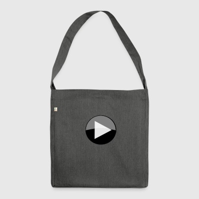 play circle icon - Shoulder Bag made from recycled material