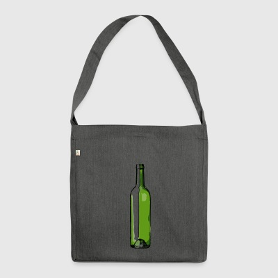Wine - Shoulder Bag made from recycled material