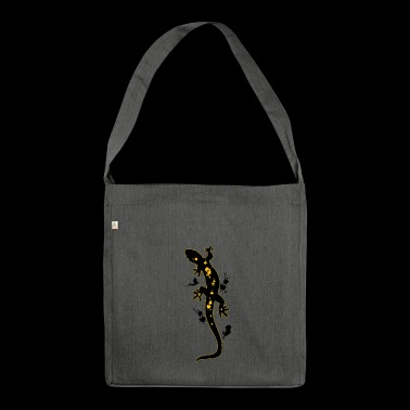 REPTILE - Schultertasche aus Recycling-Material