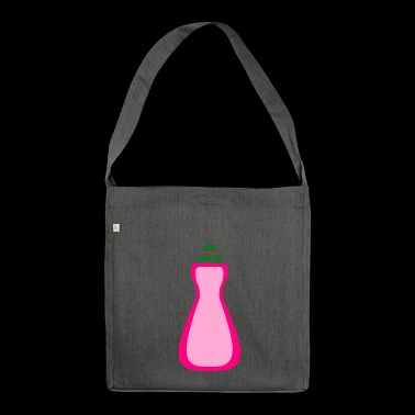 cleaning cleaning cleaning woman broom wischmop59 - Shoulder Bag made from recycled material