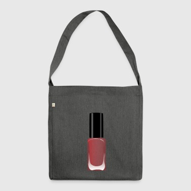 Nail polish nails paint gift gift idea - Shoulder Bag made from recycled material