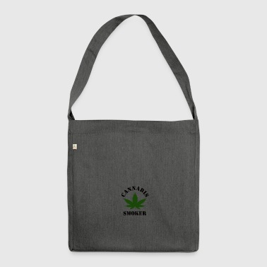 Cannabis Smoker - Shoulder Bag made from recycled material
