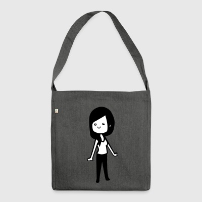 sweet girl - Shoulder Bag made from recycled material