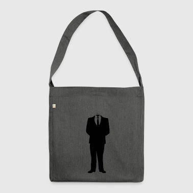 suit - Shoulder Bag made from recycled material