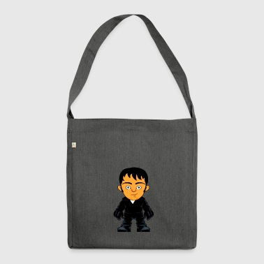 Avatar Motif comic figure style - Shoulder Bag made from recycled material
