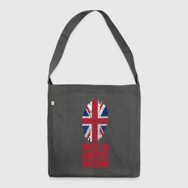 Made in United Kingdom / United Kingdom - Shoulder Bag made from recycled material
