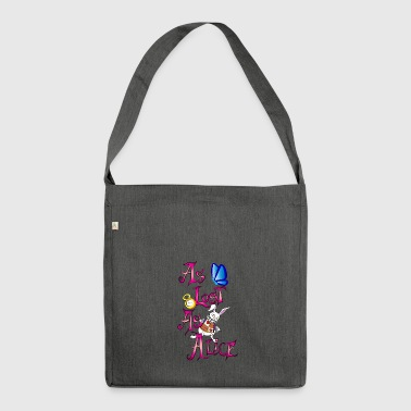 come perso come Alice - Borsa in materiale riciclato