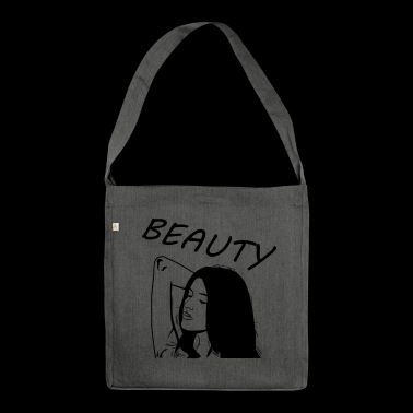 Beauty - Shoulder Bag made from recycled material