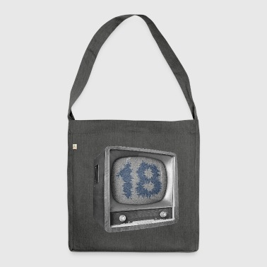 Date of birth 18 years - Shoulder Bag made from recycled material