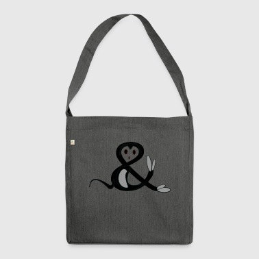 ampersand - Shoulder Bag made from recycled material