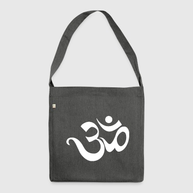 Om Sanskrit Yoga Indien - Schultertasche aus Recycling-Material
