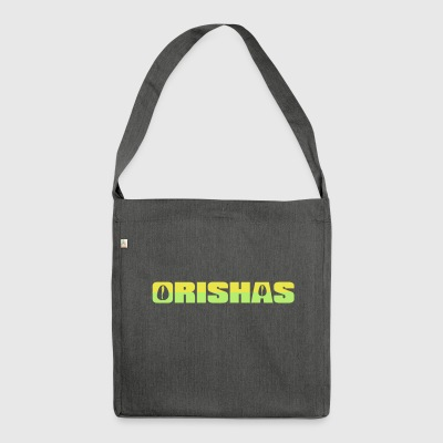 Orishas 2C - Shoulder Bag made from recycled material