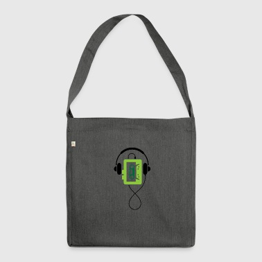 A Classic Walkman - Shoulder Bag made from recycled material