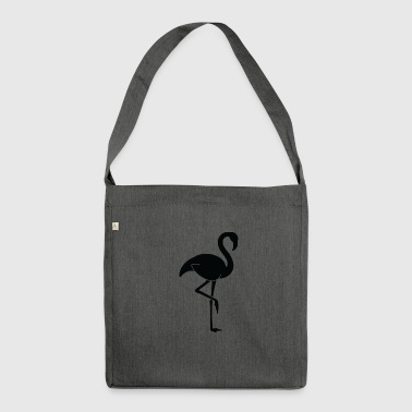 A Pretty Flamingo - Shoulder Bag made from recycled material