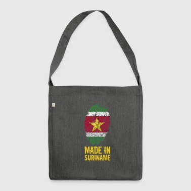 Made In Suriname / Surinam / sranan - Sac bandoulière 100 % recyclé