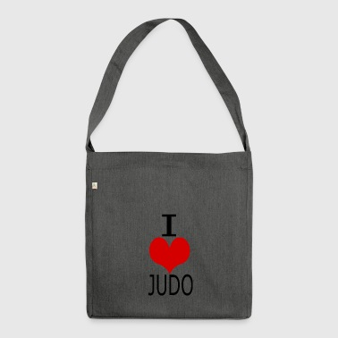 IchliebeJudo - Shoulder Bag made from recycled material