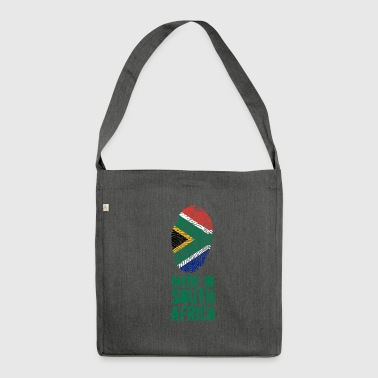 Made In South Africa / South Africa - Shoulder Bag made from recycled material