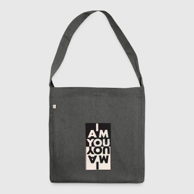 iamyou - Schultertasche aus Recycling-Material